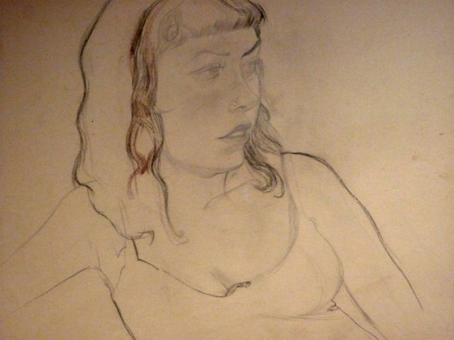 Laura on Oyster paper