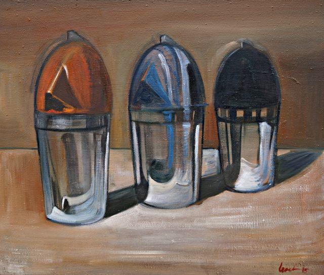 Three Soda Machines