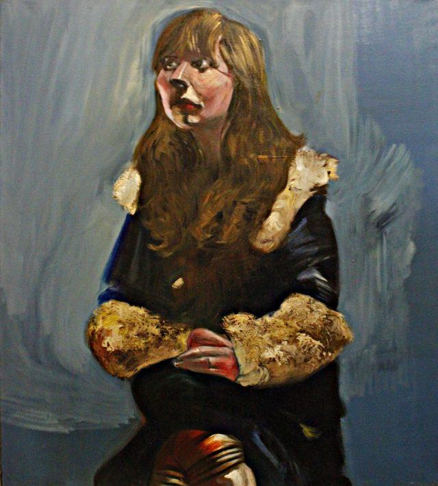 Anna with Fur Cuffs