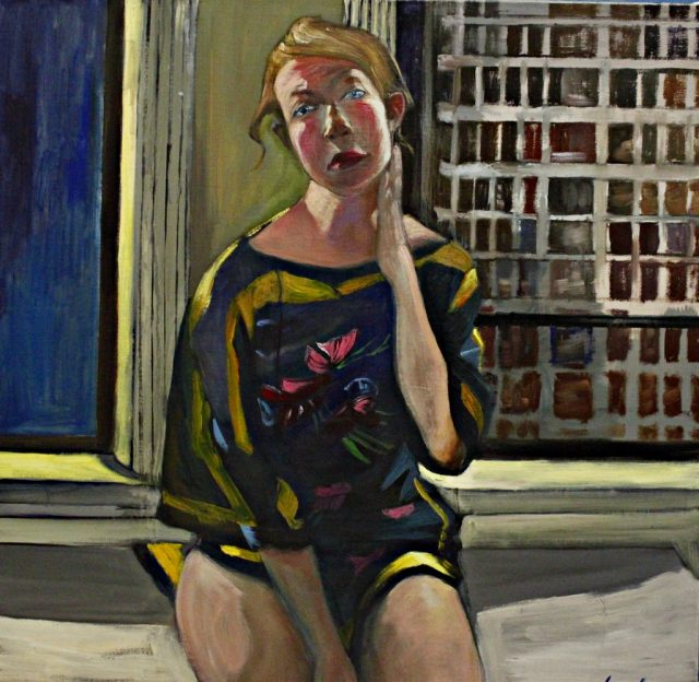 Dahl at Window