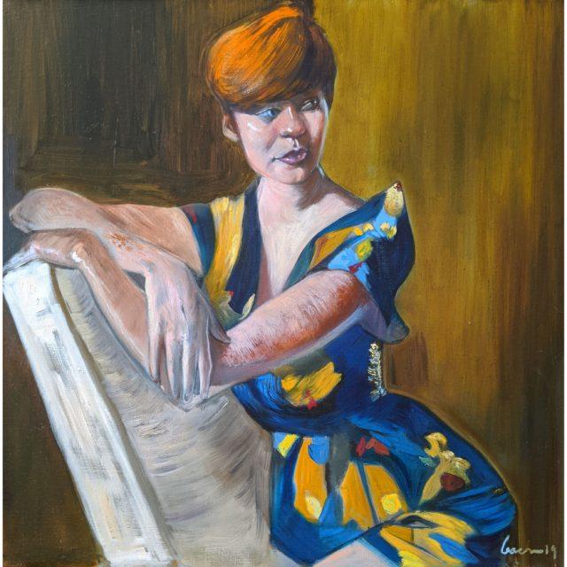 Ashley, oil on linen