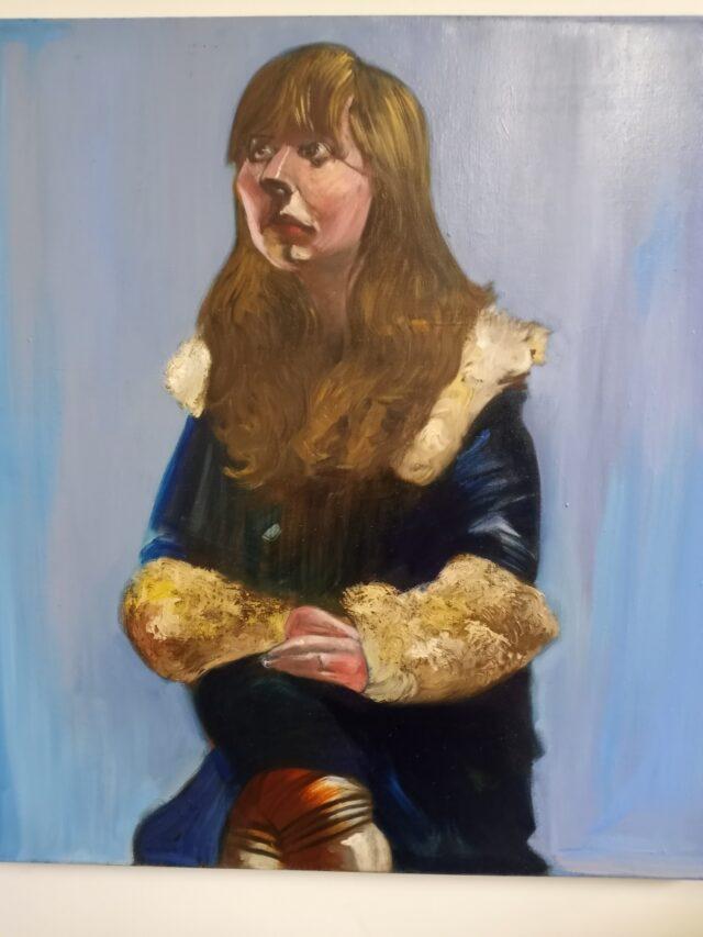 Anna in Fur Coat